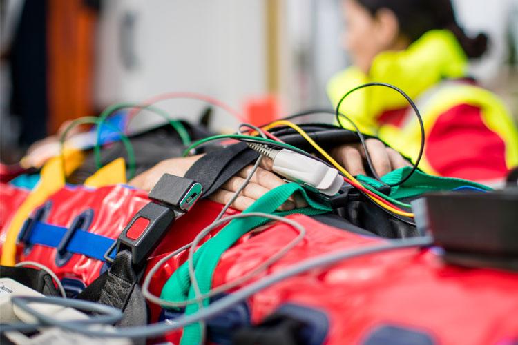RedVac Vakuummatratzen im Einsatz